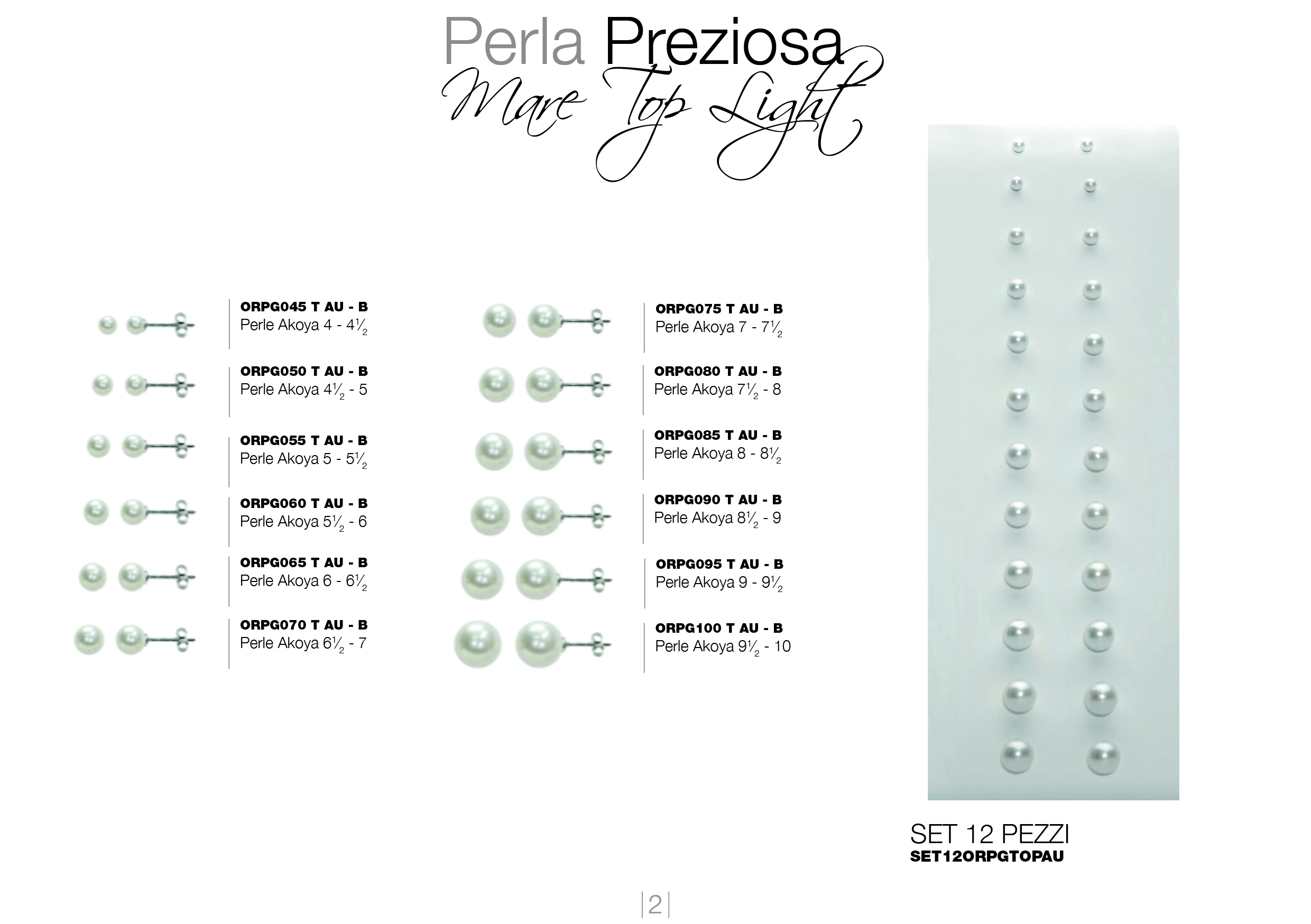 perle preziose top light _V202